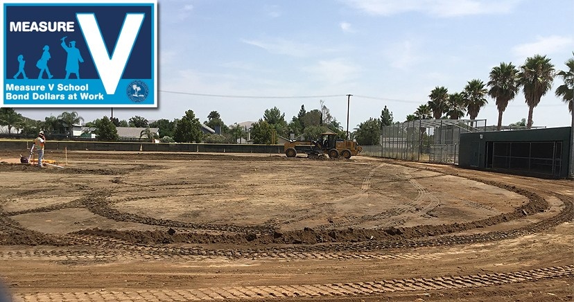 Lakeside High Synthetic Turf Baseball Field Replacement