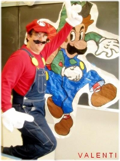 Mario dress-up day
