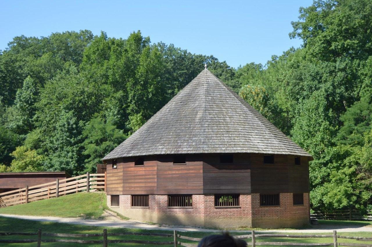GW's 16 sided Wheat Barn