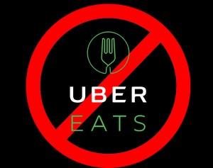 no uber eats