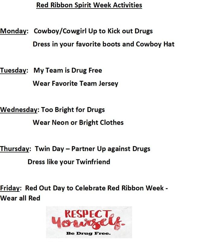 Red Ribbon Week Activities Thumbnail Image
