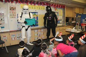 Stormtroopers Reading