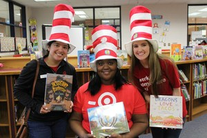 Annie Belle Clark students celebrated National Read Across America Day recently! Many guest readers, including Target employees, took time to visit and share a book with students.