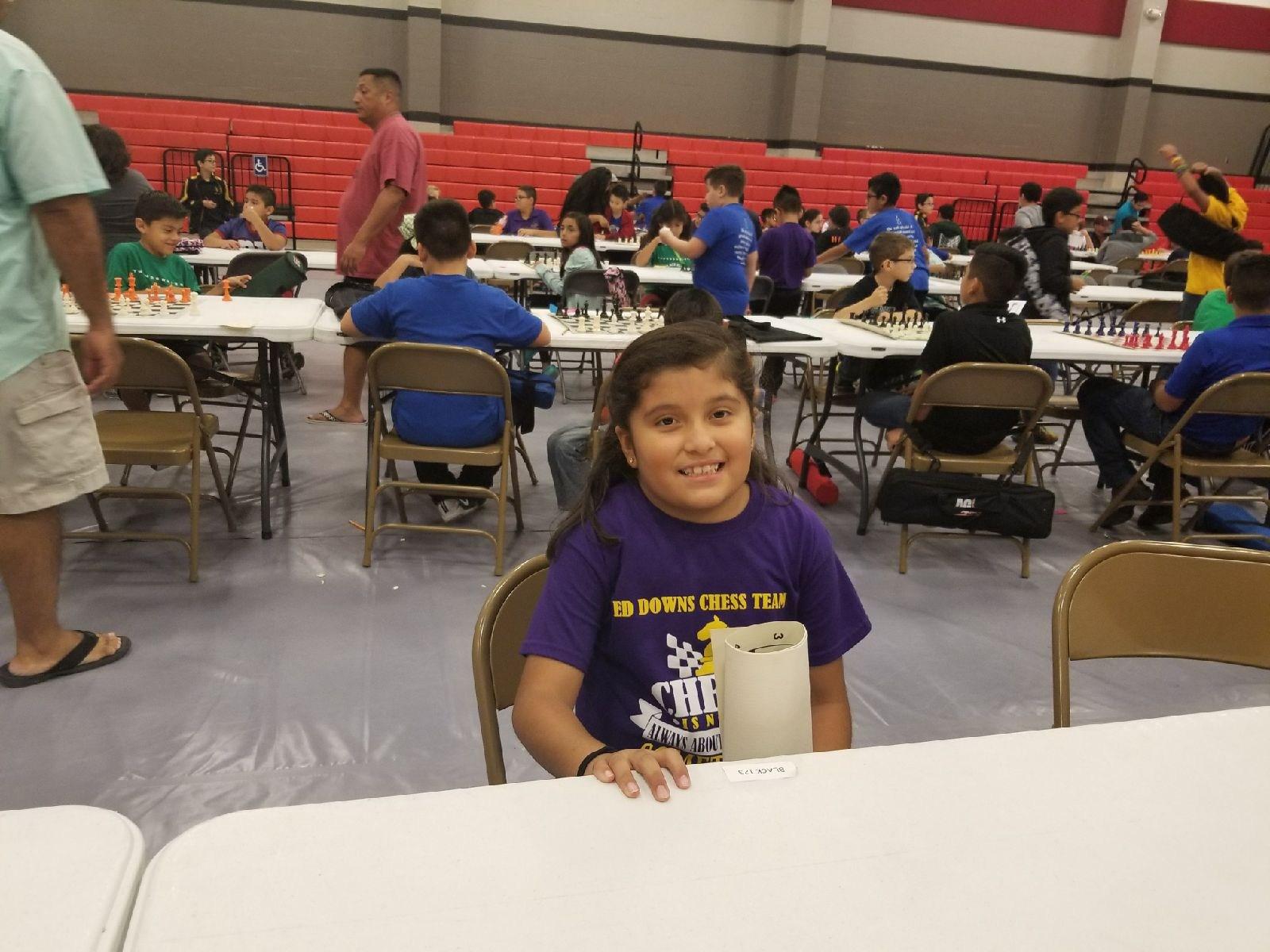 Annabella Garza ~ 3rd Grade Team member