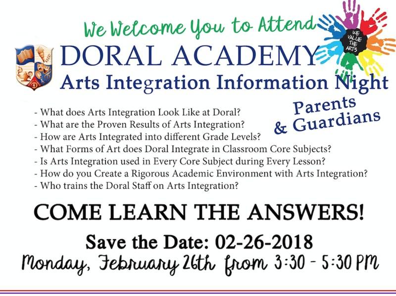 Parent and Guardian Arts Integration Night Thumbnail Image