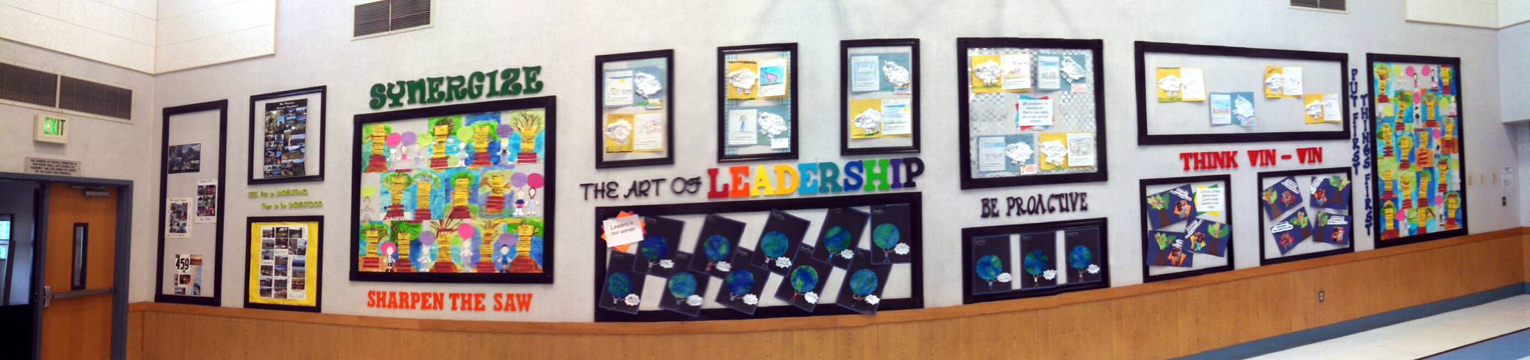 Art of Leadership Wall