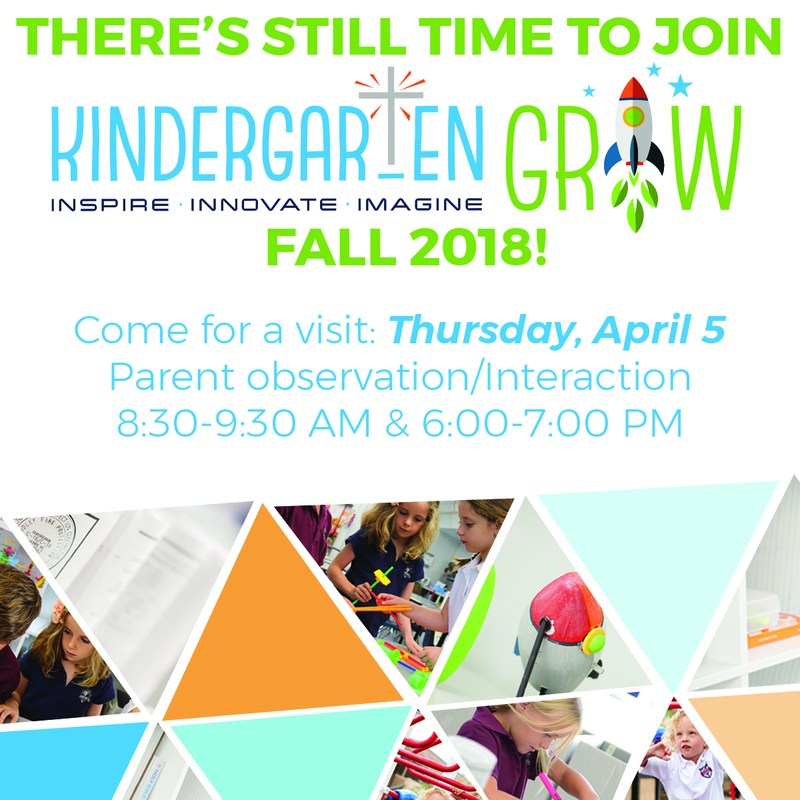 Kindergarten GROW Open House Featured Photo