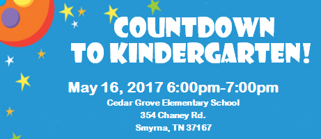 COUNTDOWN TO KINDERGARTEN Thumbnail Image