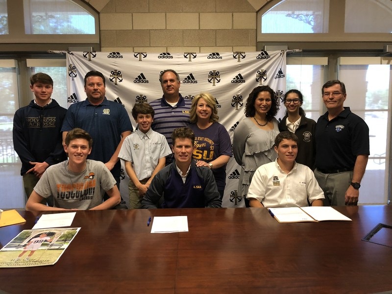 Three Athletes Sign for College Programs Featured Photo