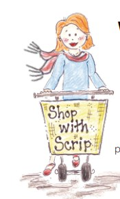 clipart of person with shopping cart