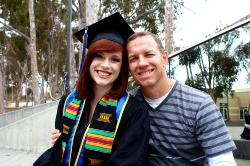 Daughter Elisa (UCSD Graduation)