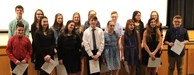 Congratulations to the 16 newest members of the National Junior Honor Society