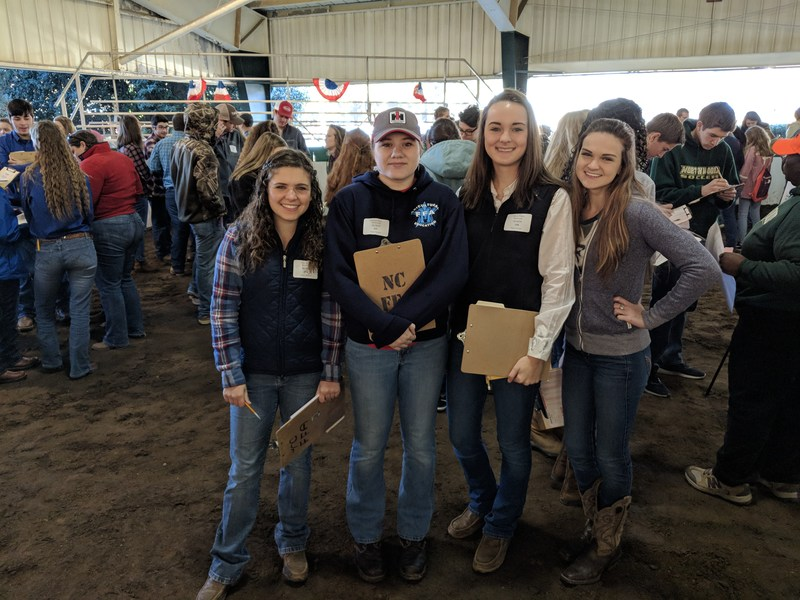 FFA Students place in State Competition
