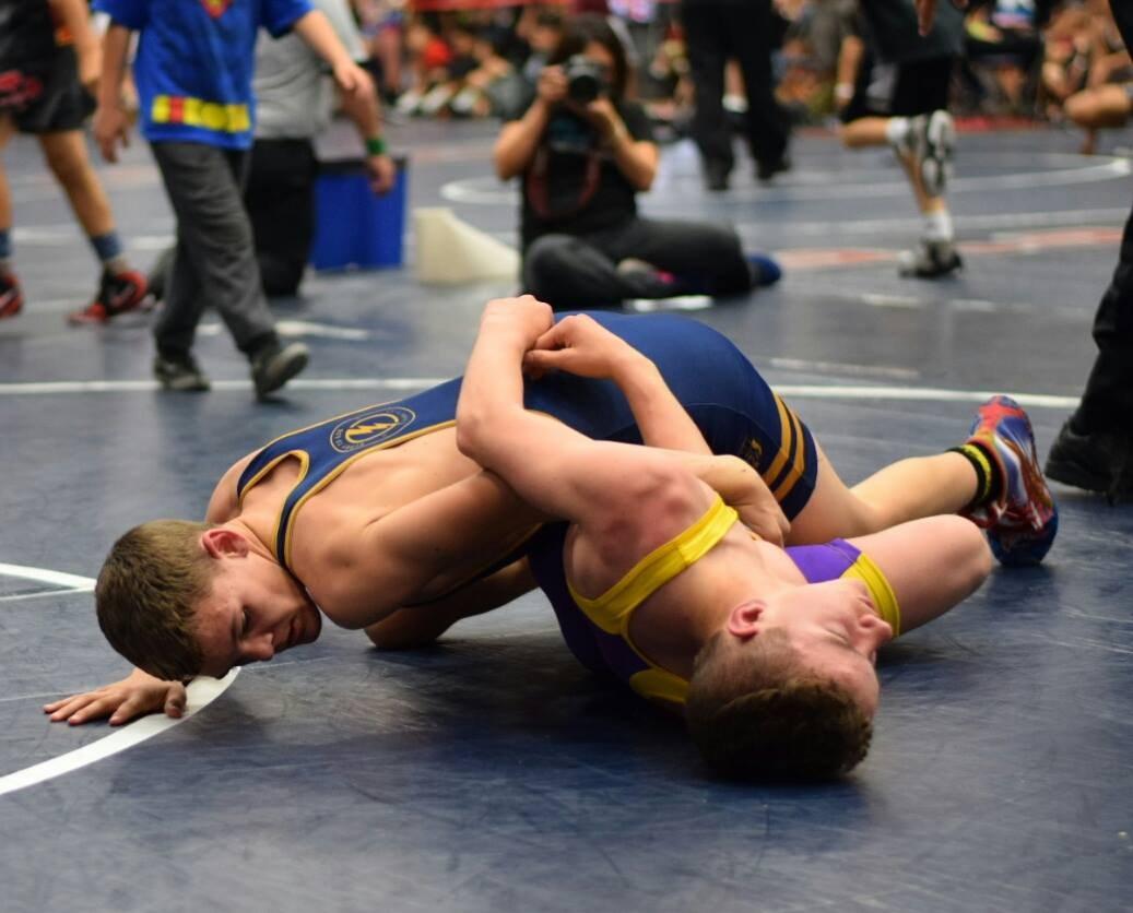 Student wrestling