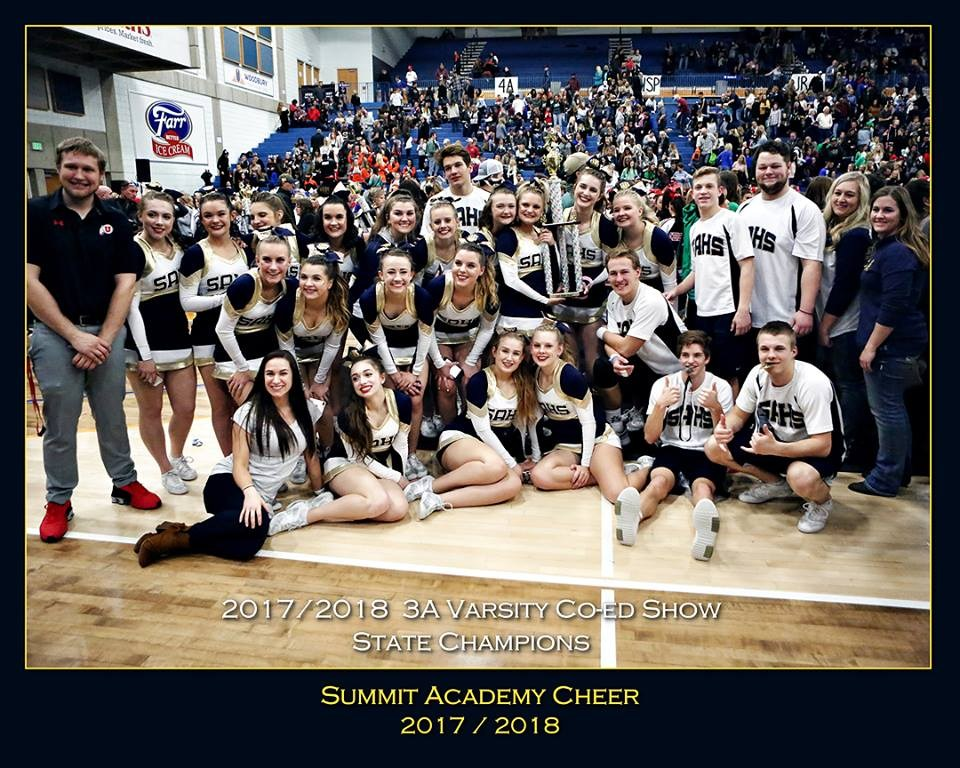 Cheer - Athletic Departments | Summit Academy High School