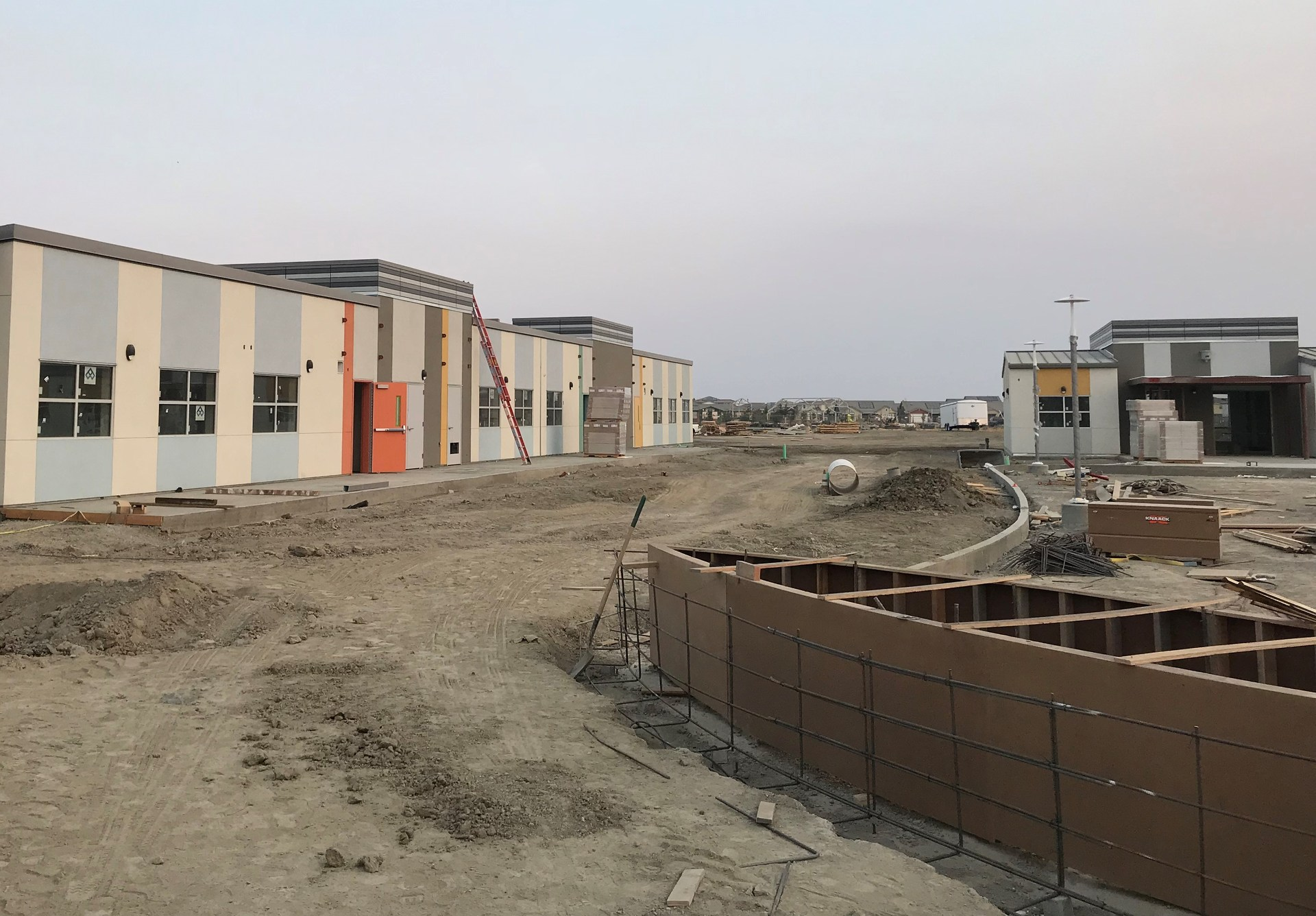 Spring Lake Elementary School under construction as of October.