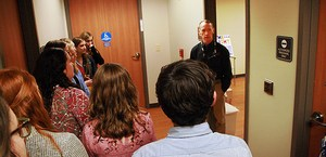 Central Magnet School students tour cancer center at Saint Thomas Rutherford Hospital