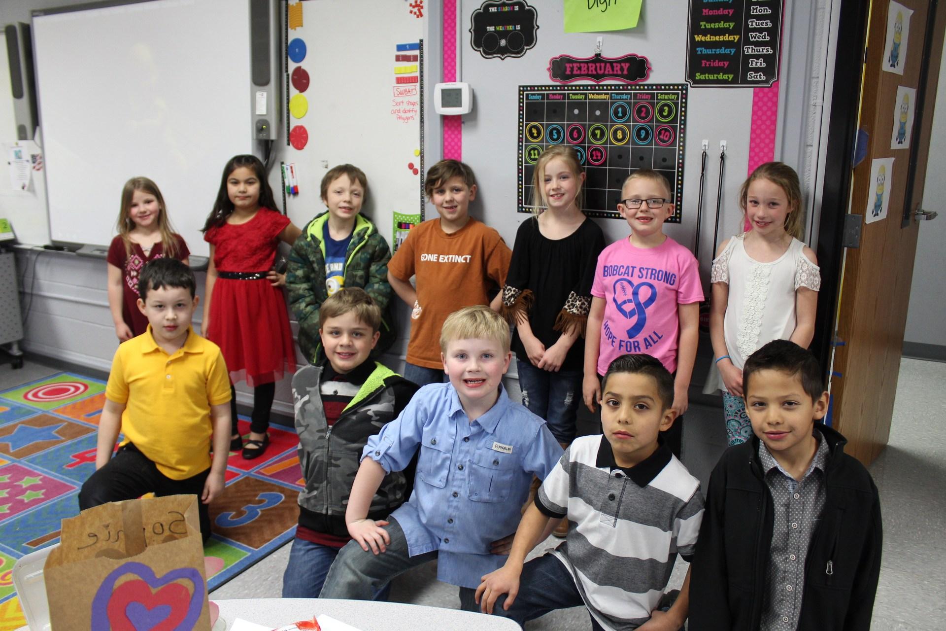 2nd grade class party
