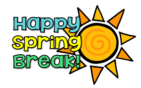 Have a SAFE & Relaxing Spring Break! Thumbnail Image