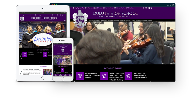 Duluth High School Website
