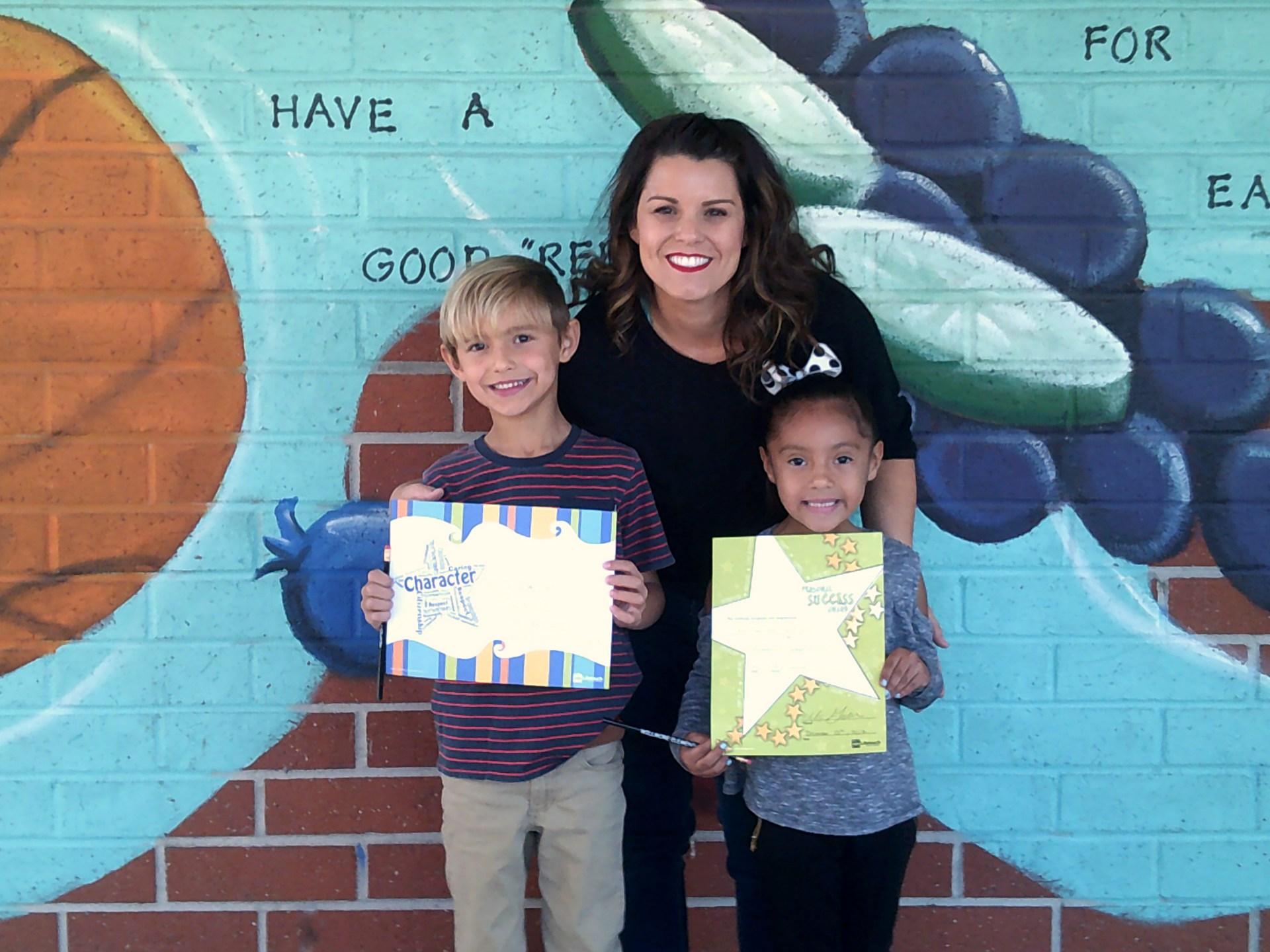 Mrs. Weber's December Honorees