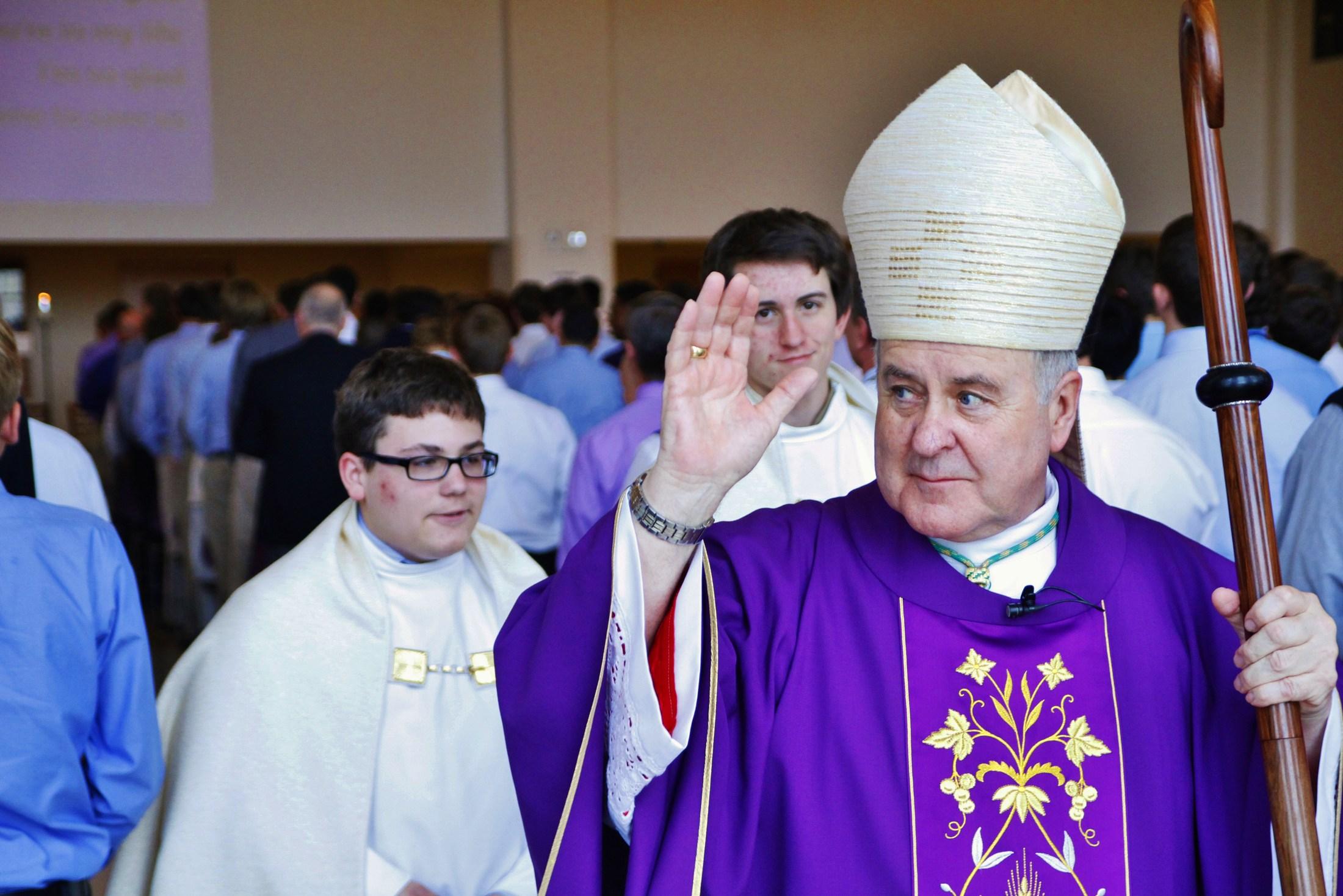 Archbishop Robert Carlson