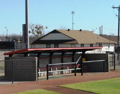 Dugouts at Pratt Field
