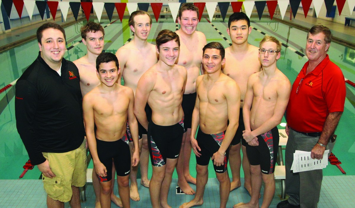bb378aed46 The Archbishop Ryan boys' swim team trains and competes in the beautiful  and modern Alberta Morris Pool, across the street from the school.
