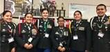 JROTC Leadership students at Arvin High School