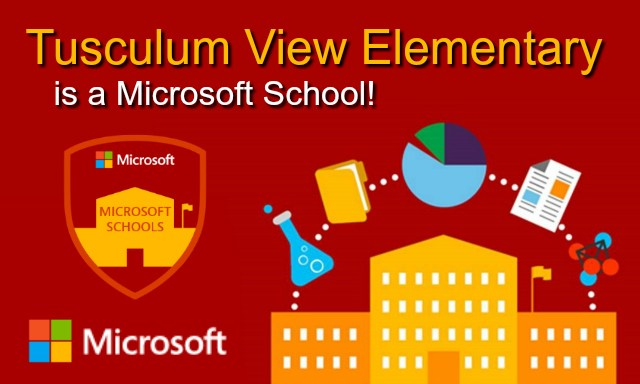 Tusculum View Elementary is a Microsoft School