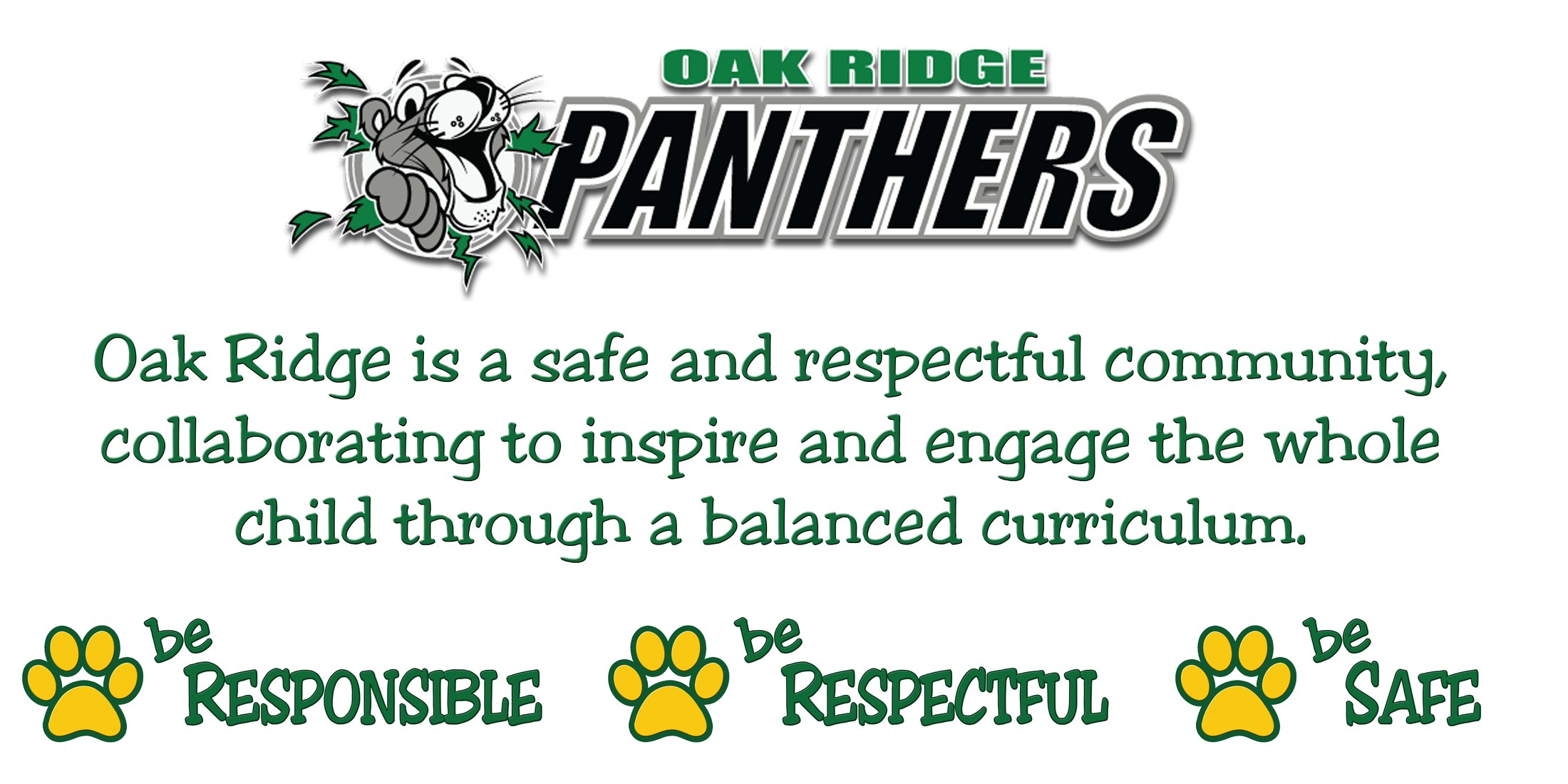Oak Ridge Mission Statement