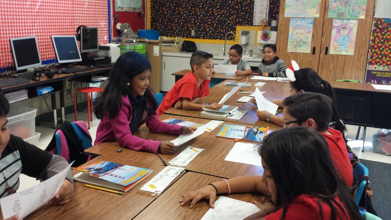 Students at Baldwin Park Unified's Kenmore Elementary use Thinking Maps to visualize thought processes, which in turn prompts a higher level of critical and creative reasoning. The school is being celebrated for its effectiveness by No Excuses University.