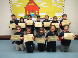 perfect attendance recipients