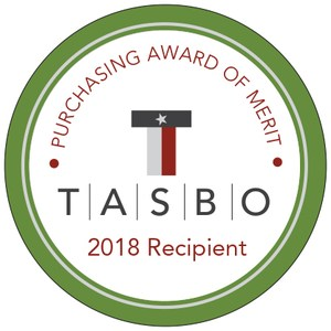 TASBO Purchasing Award of Merit seal