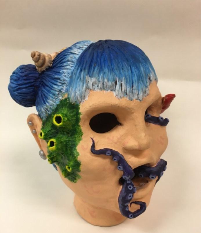 16-17 Pioneer High School Ceramics- J.Sanchez/B.Ochoa