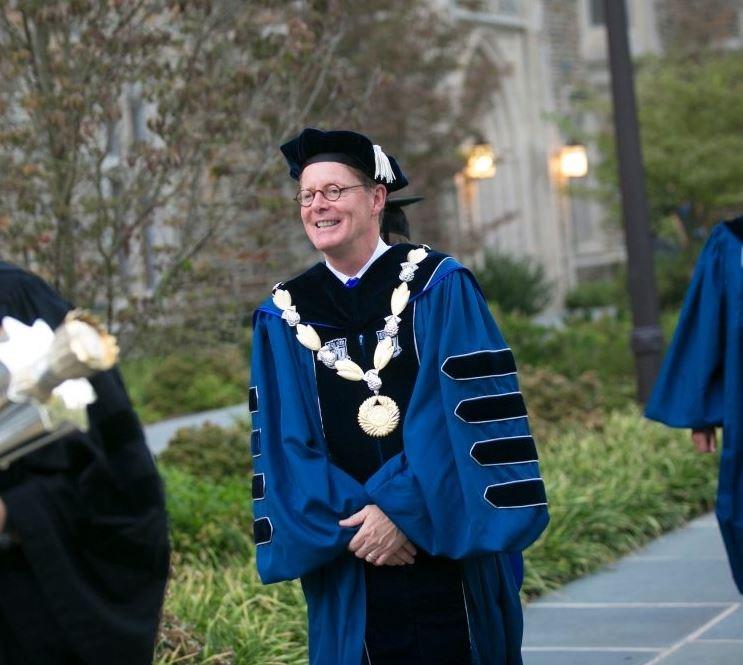 Alumnus is New Duke University President Thumbnail Image
