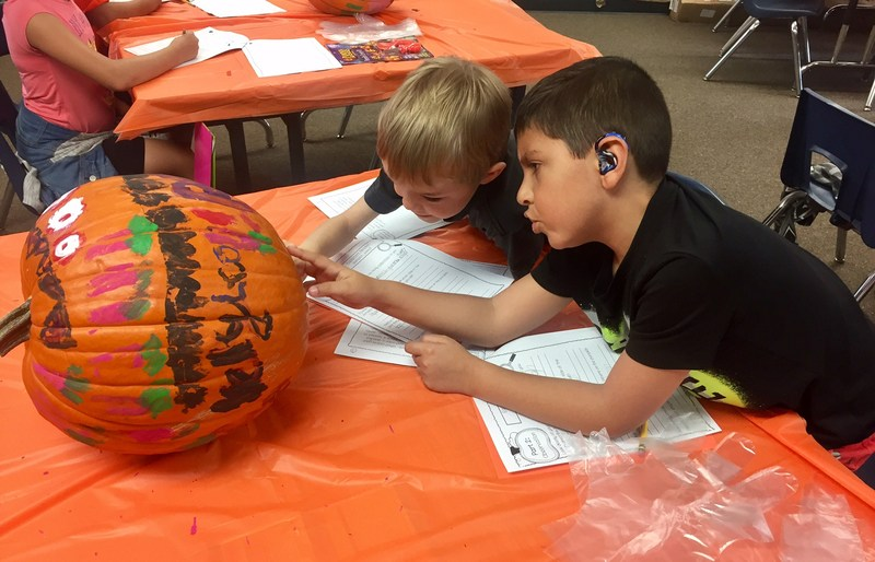 3rd Graders Learn to Compare and Contrast with a Pumpkin Project! Thumbnail Image