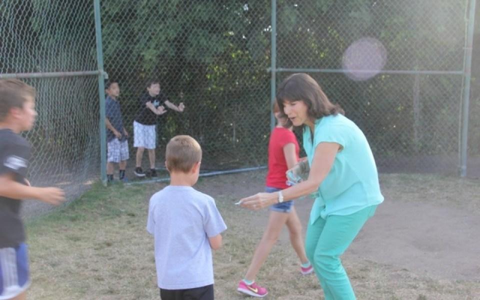 Guest Mrs Steinberg at run club