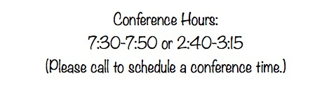 Conference Hours