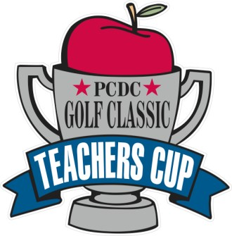 Teachers cup golf tournament logo
