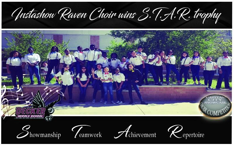 Instashow Raven Choir wins S.T.A.R. trophy Thumbnail Image