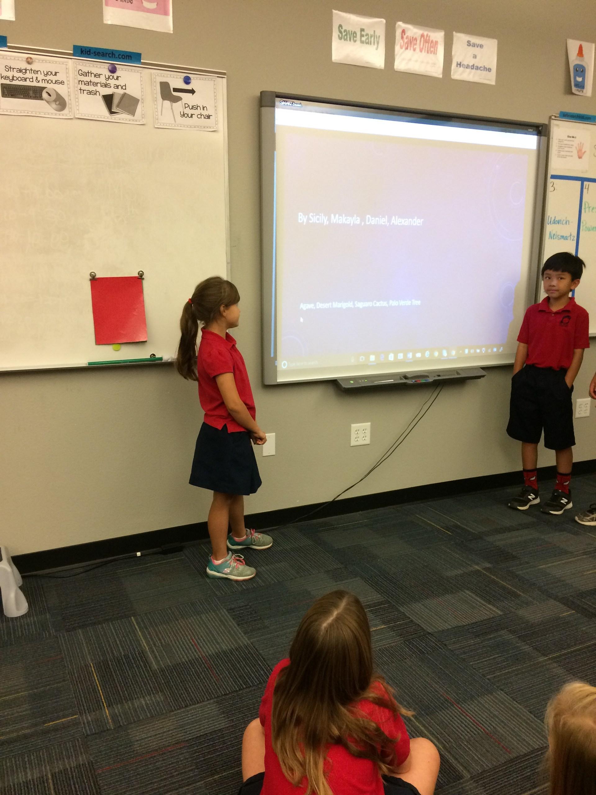 4th grade presentations