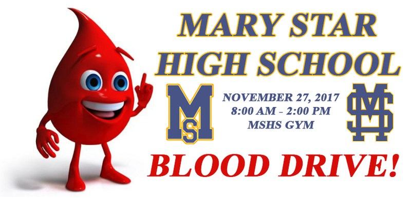 MSHS Blood Drive 11/27 Featured Photo