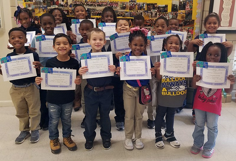 McLaurin Elementary School's Citizens of the Month Thumbnail Image