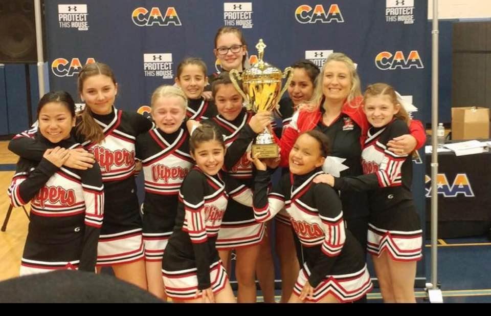 2017 CAA Cheerleading State Champions