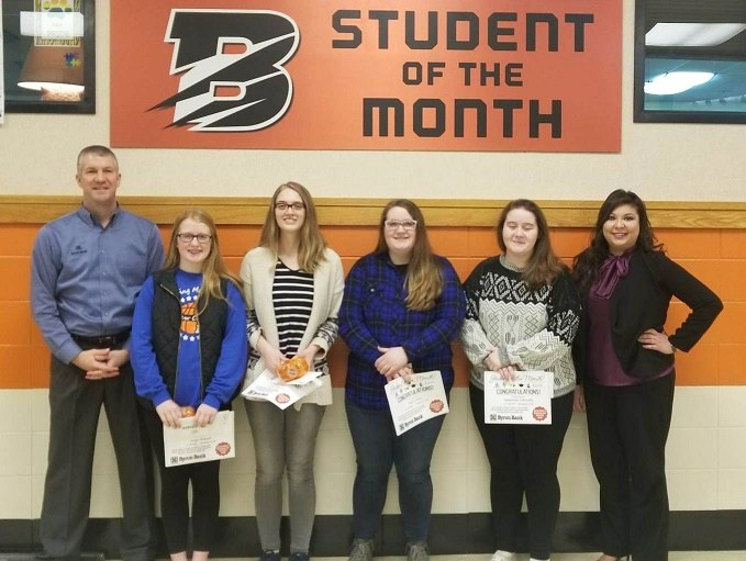BHS January Students of the Month