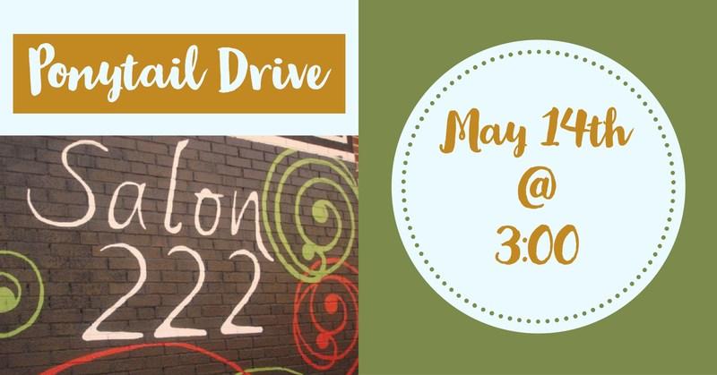 Ponytail Drive May 14