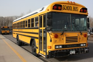 Image of a school bus.