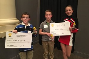 Picture of Spelling Bee Winners