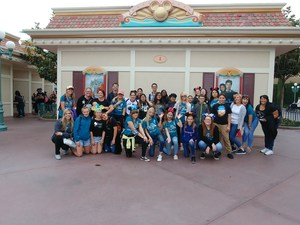 Dartmouth Choir at Fullerton and Disneyland